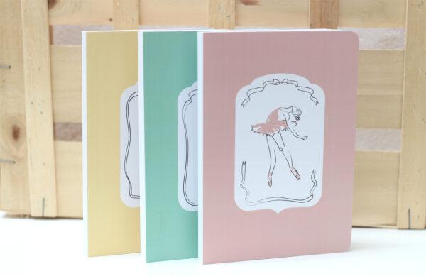 Cuaderno Bailarina