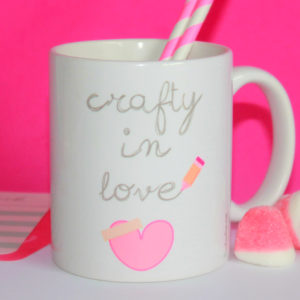Taza CRAFTY IN LOVE