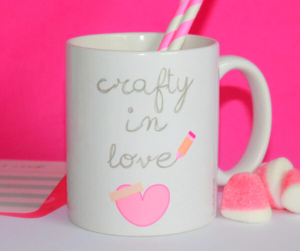 Taza CRAFTY IN LOVE