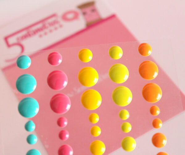 Enamels Dots Intence Colour
