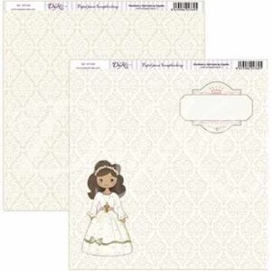 """Papel 30×30 """"Mi Primera Comunión"""" SCP-058"""