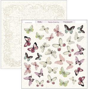 Papel 30×30 Mariposas SCP-090