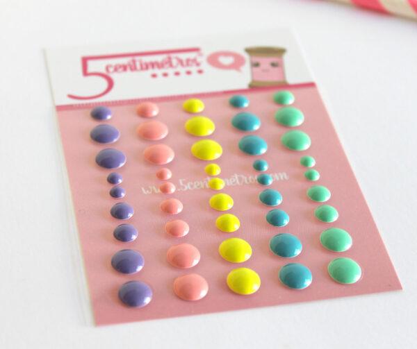 Enamels Dots Light Colour