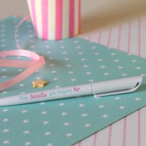 Bolígrafo Más Bonita