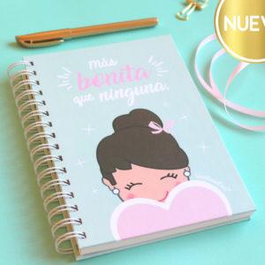 Cuaderno Más Bonita