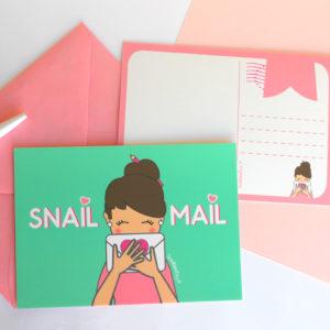 Set de Postales SNAIL-MAIL