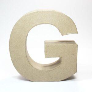 Letra G Cartón Craft