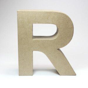 Letra R Cartón Craft