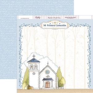 Papel 30×30 «Comunión Niño 2018» Iglesia SCP-240
