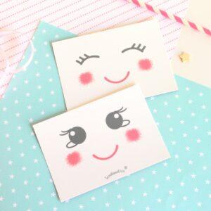 Set de Postales Sonrisa