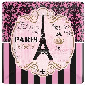 PLATO 18cm CUADRADO: A DAY IN PARIS