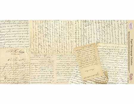Papel Decoupage Manuscritos