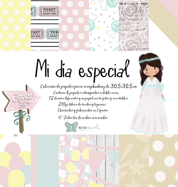 """Colección """"Mi Día Especial Niña"""""""