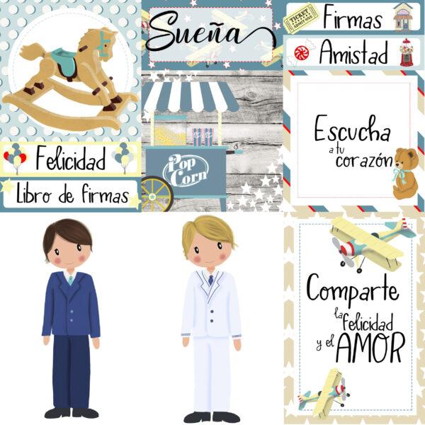 """Colección """"Mi Día Especial Niño"""""""