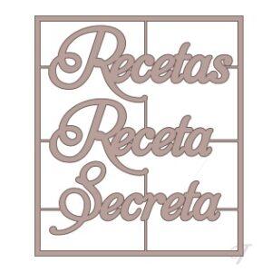 Letras «Receta Secreta»