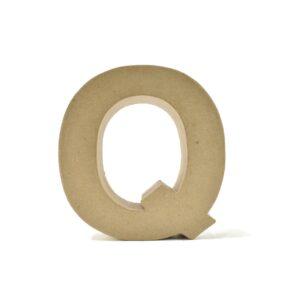 Letra Q Cartón Craft