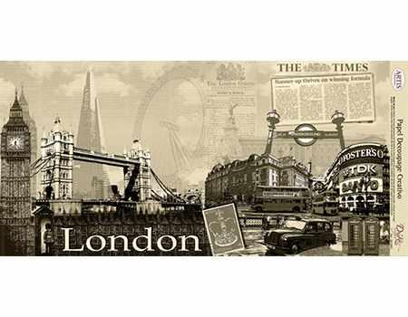 Papel Decoupage Londres