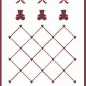 Stencil Din A6 – A6-009