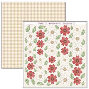 Papel 30×30 Flores para Cortar SCP-135