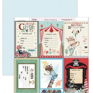 Papel 30×30 «Invitaciones Niños» SCP-208