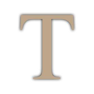 Letra T 15x11cm