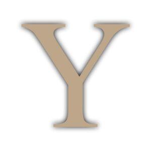 Letra Y 15x11cm