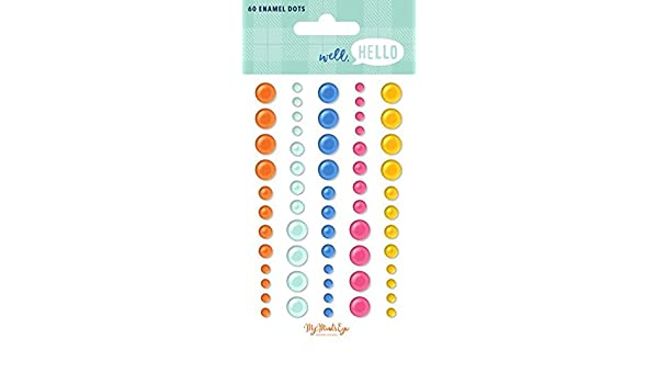 WELL, HELLO – ENAMELS DOTS